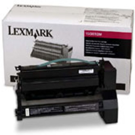 Lexmark 15G032M, Toner Cartridge HC Magenta, C752, C762- Original