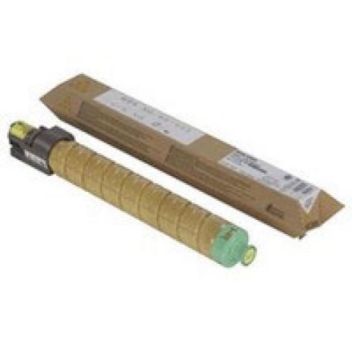 Ricoh 820008 Toner Cartridge HC Yellow, SP C811 - Genuine