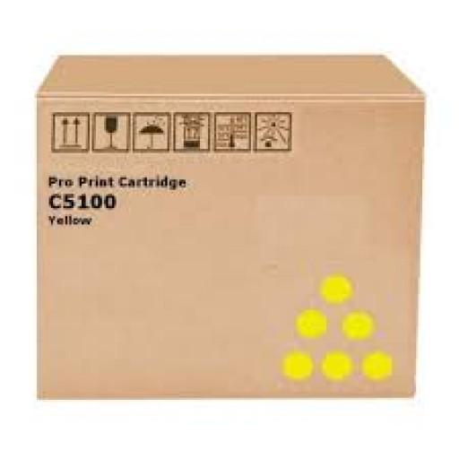 Ricoh 828226, Toner Cartridge Yellow, Pro C5110S, Pro C5100S- Original