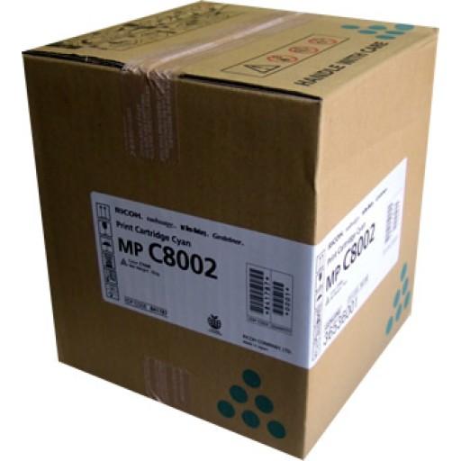 Ricoh 841787, Toner Cartridge Cyan, MP C8002, C6502- Original