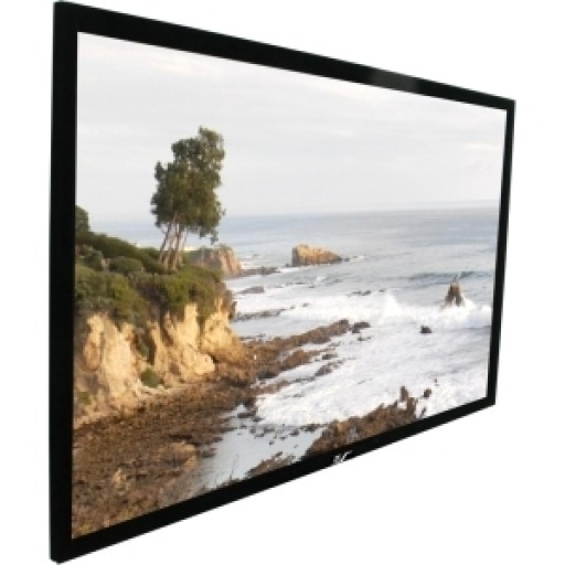 Elite R106WH1-BLACK EZ Frame Fixed Frame Projection Screen