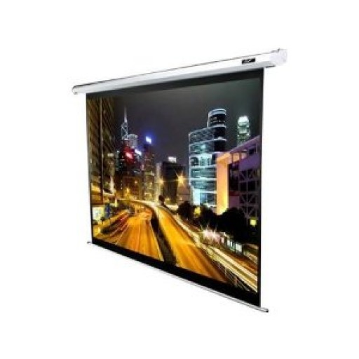 Elite ELECTRIC84V-WHITE Electric Spectrum Projection Screen