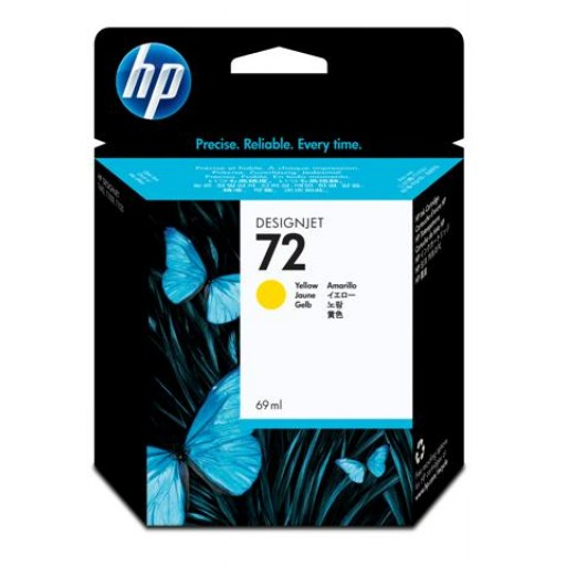 HP C9400A No.72 Ink Cartridge - Yellow Genuine