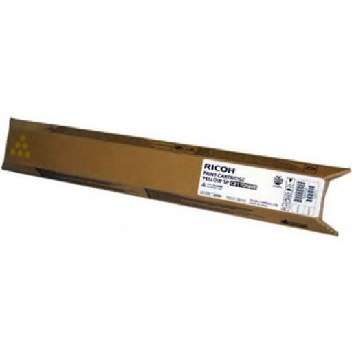 Ricoh 821222, Toner Cartridge Yellow, SP C811 Toner - Genuine