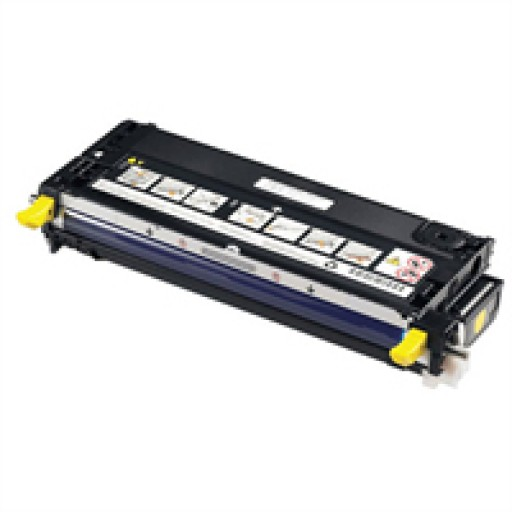 Dell 593-10168, Toner Cartridge Yellow, 3110cn, 3115cn- Original
