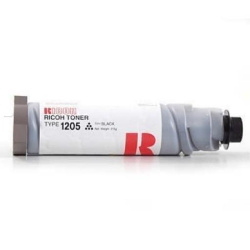 Ricoh 885122, Toner Cartridge Black, Type 1205, FT3613, 3813, 4015, 4018- Genuine
