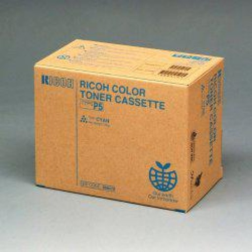 Ricoh 885516 Toner Cartridge Cyan, Type P5, 2228C, 2232C, 2238C - Genuine
