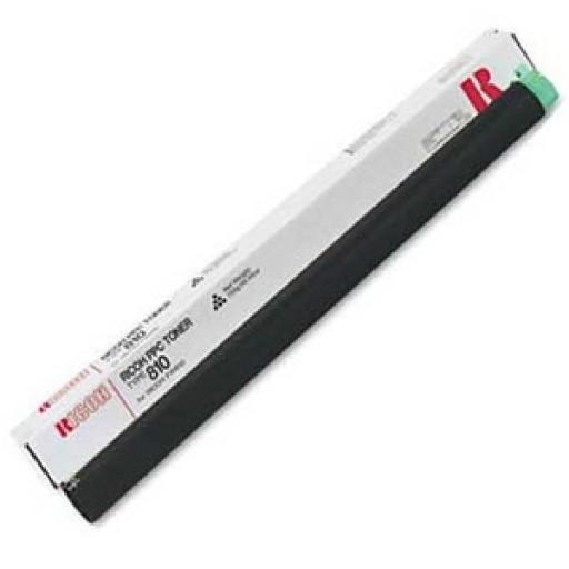 Ricoh 887447, Toner Cartridge Black, Type 810, FW 740, 750, 760, 770- Original