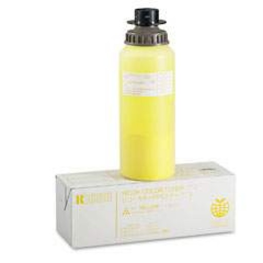 Ricoh 887814 Toner Cartridge Yellow, Type J, NC5006, NC5106, NC5206, NC8115 - Genuine
