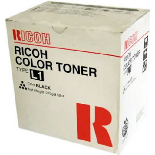 Ricoh 887890 Toner Cartridge Black, Type L1, AC6010, AC6110, AC6513 - Genuine
