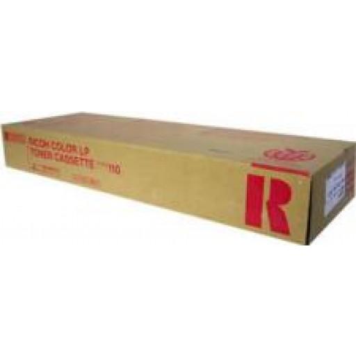 Ricoh 888117 Toner Cartridge Magenta, Type 110, CL5000  - Genuine