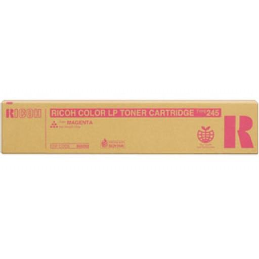 Ricoh 888282 Toner Cartridge Magenta, Type 245, CL4000, SPC410, SPC411, SPC420 - Genuine