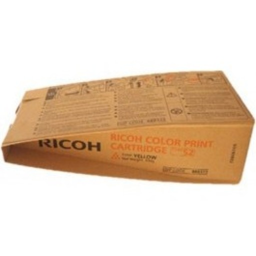 Ricoh 888373 Toner Cartridge Yellow, Type S2, 3260C, 5560C - Genuine
