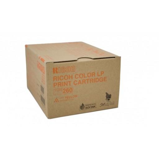 Ricoh 888447, Toner Cartridge Yellow, Type 260, CL7200, CL7300- Original