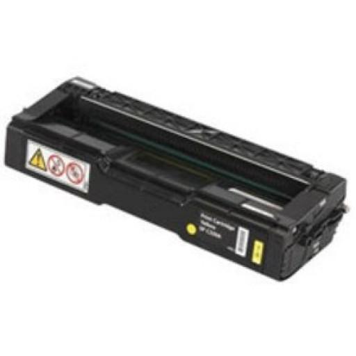 Ricoh 888484, Toner Cartridge Yellow, Type T2, 3232C, 3224C- Original