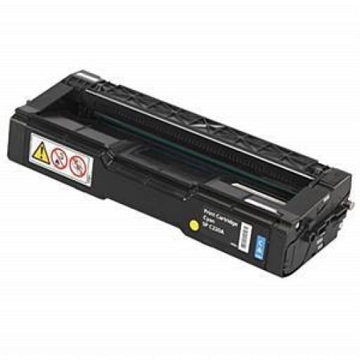 Ricoh 888486, Toner Cartridge Cyan, Type T2, 3232C, 3224C- Original