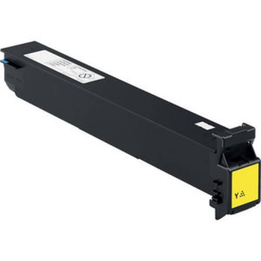 Konica Minolta TN210Y Toner Cartridge Yellow, 8938510, C250, C252 - Compatible