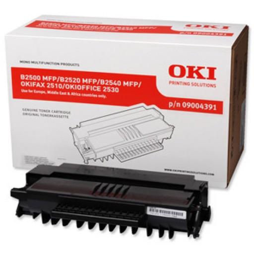 Oki 9004391, Toner Cartridge HC Black, B2500, B25200, B2540, 2510- Original