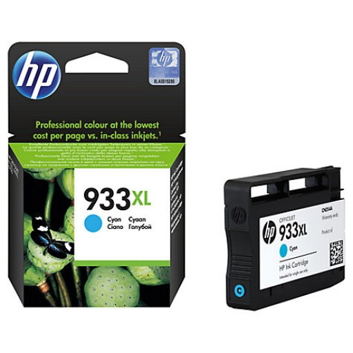 HP CN054AE, Ink Cartridge HC Cyan, Officejet 6100, 6600, 6700, 7612- Genuine