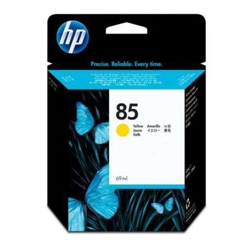 HP C9427A No.85 Ink Cartridge - Yellow Genuine