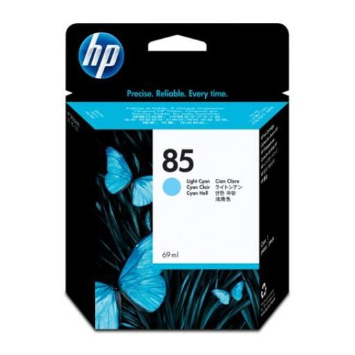 HP C9428A, No.85, Ink Cartridge Light Cyan, Designjet 90, 130- Original