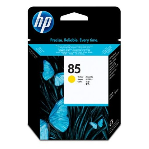 HP C9422A No.85 Ink Cartridge - Yellow Printhead Genuine
