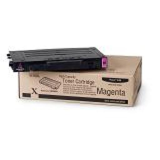 Xerox 106R00681, Toner Cartridge- HC Magenta, Phaser 6100- Original