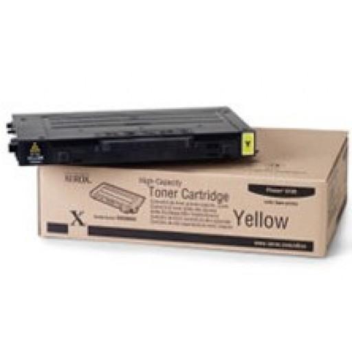 Xerox 106R00678, Toner Cartridge- Yellow, Phaser 6100- Original