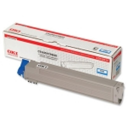 Oki 42918915 Toner Cartridge Cyan, C9600, C9650, C9800, C9850- Genuine