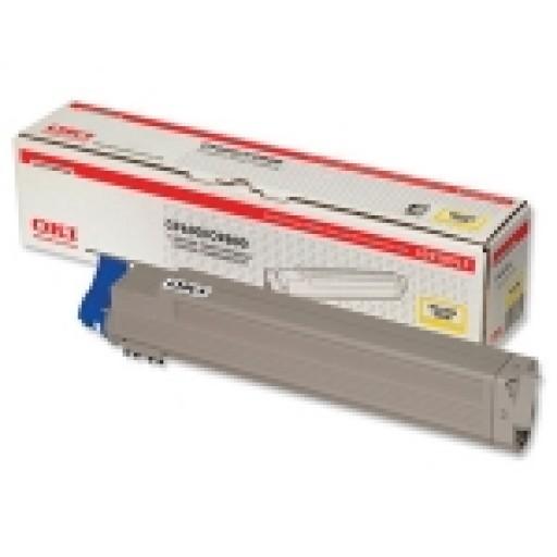 Oki 42918913 Toner Cartridge Yellow, C9600, C9650, C9800, C9850- Genuine