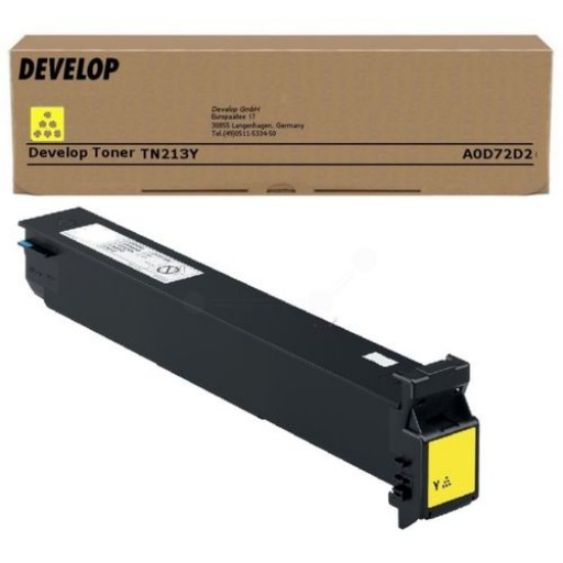 Develop TN-213Y, Toner Cartridge Yellow, Ineo +203, +253- Original