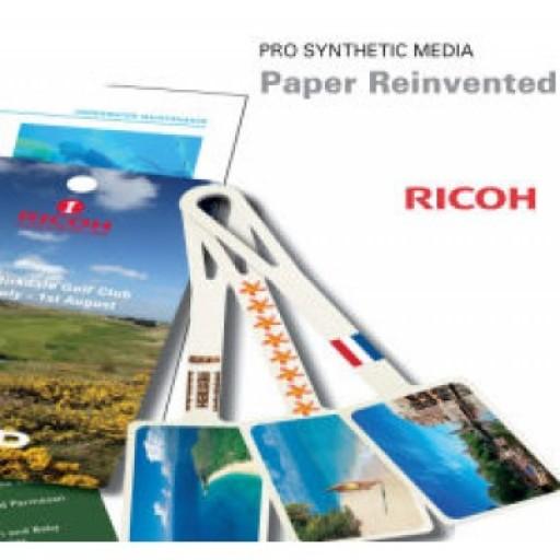 Ricoh Pro Synthetic media A4 120 Micron - White Opaque