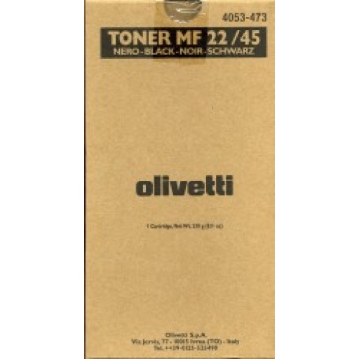 Olivetti, B0480, Toner Cartridge - Black, MF22, MF45- Original