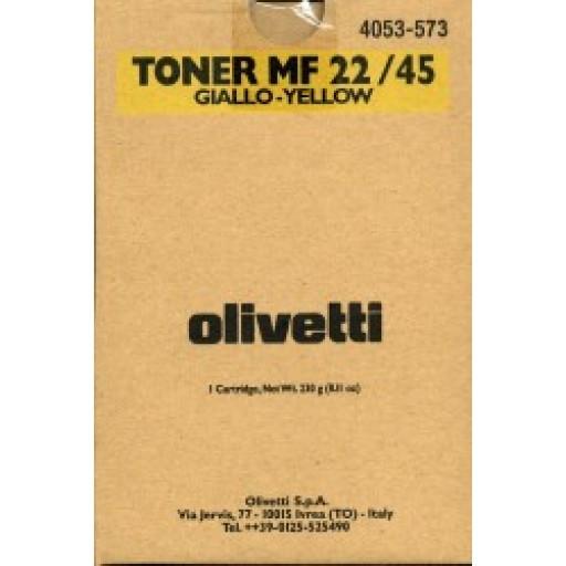 Olivetti B0481, Toner Cartridge- Yellow, MF22, MF45- Original