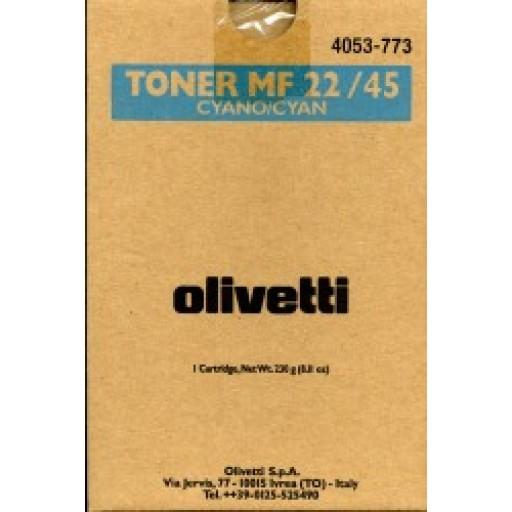 Olivetti B0483, Toner Cartridge- Cyan, MF22, MF45- Original