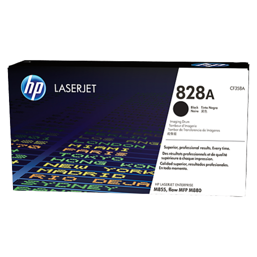 HP 828A, Imaging Drum Black, Laserjet M880, M855, (CF358A)- Genuine