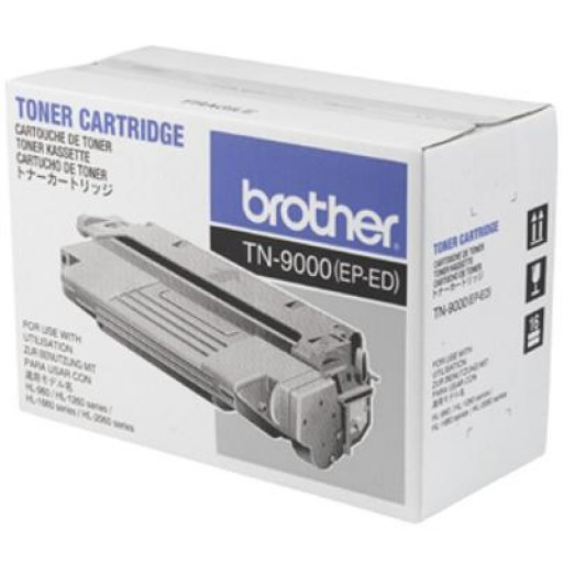 Brother TN9000, Toner Cartridge- Black, HL1260, HL1660, HL2060, HL960- Genuine