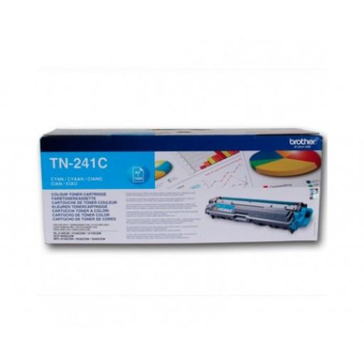 Brother TN241C, Toner Cartridge- Cyan, HL3140, MFC9140, MFC-9330CDW- Genuine