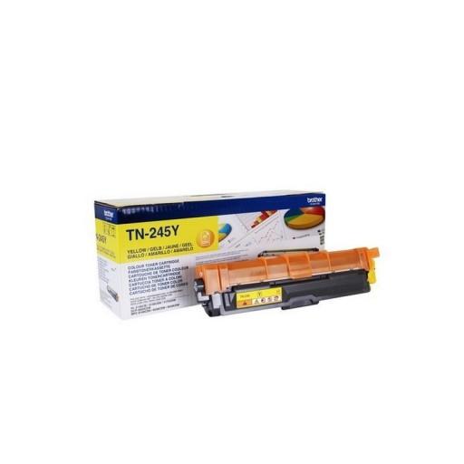 Brother HL3140, MFC9140 Toner Cartridge - HC Yellow Genuine, TN245Y