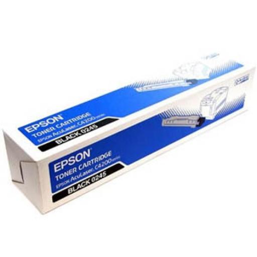 Epson C13S050245 Toner Cartridge- Black, AcuLaser C4200- Genuine