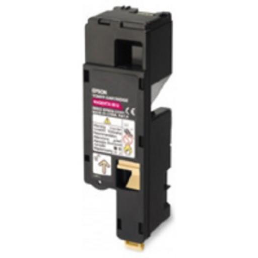 Epson C13S050670 Toner Cartridge, AcuLaser C1700, C1750, CX17 - Magenta Genuine