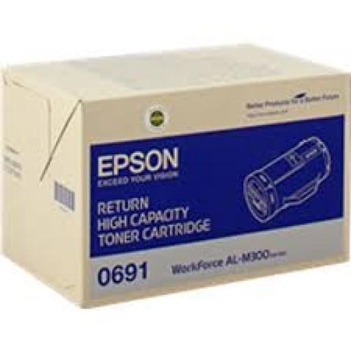 Epson C13S050691, Return Toner Cartridge HC Black, AL-M300- Original