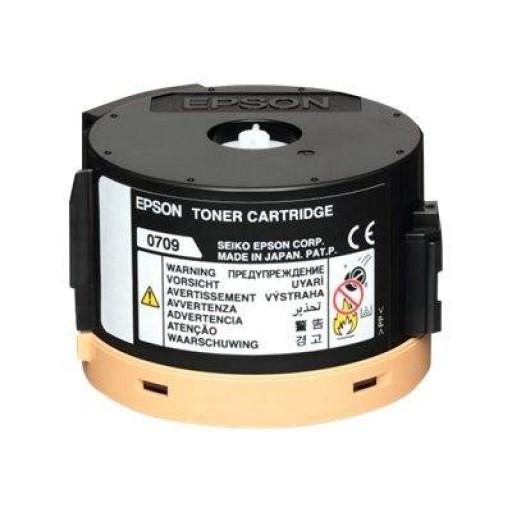 Epson AL-M200, AL-MX200 Toner Cartridge - Black Genuine, C13S050709
