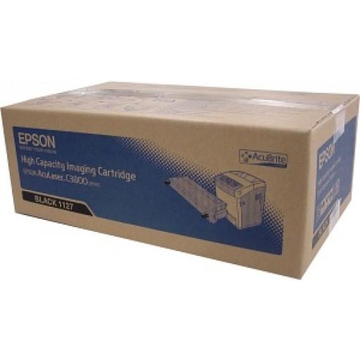 Epson C13S051127, Toner Cartridge Black, AcuLaser C3800- Original
