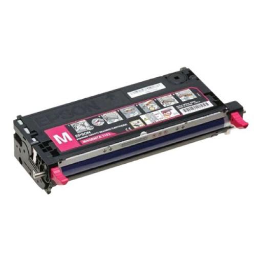 Epson C13S051163, Toner Cartridge- Magenta, C2800 - Original