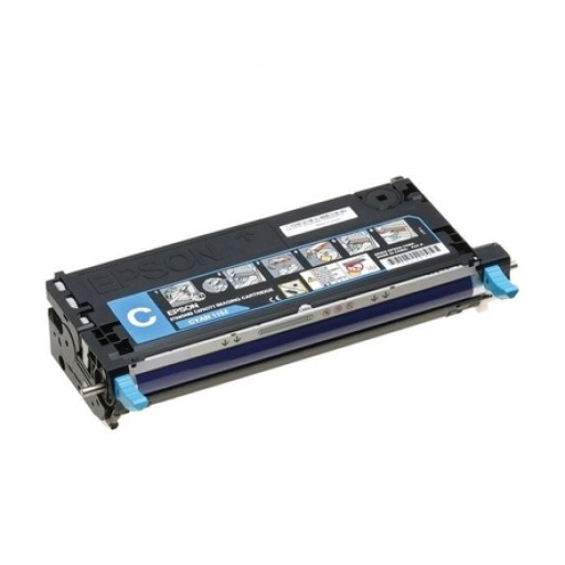 Epson C13S051164, Toner Cartridge- Cyan, C2800- Original