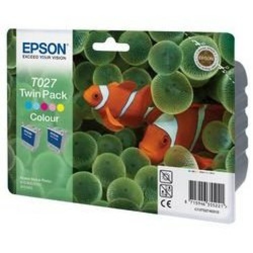 Epson T027 Ink Cartridge - 5 Colour Multipack Genuine