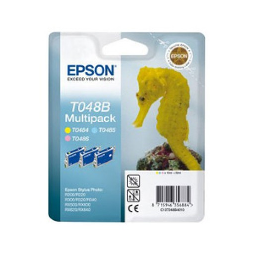 Epson T048B Ink Cartridge - Multipack Photo 3 Colour Genuine