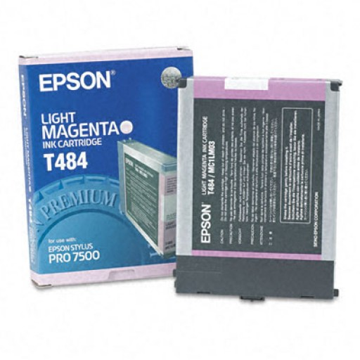 Epson T484 Ink Cartridge - Light Magenta Genuine