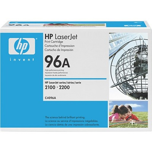 HP C4096A, Toner Cartridge Black, 2100, 2200- Original